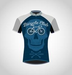 Cycling shirts vector