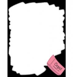 eraser border vector image
