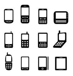Smartphones vector
