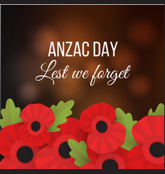 the remembrance poppy - poppy appeal vector image vector image