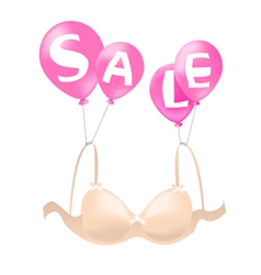 Bra on sale vector image