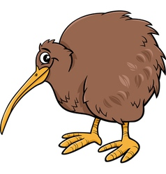 Kiwi bird cartoon vector