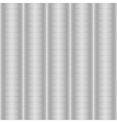 Seamless silvery striped texture vector image