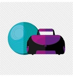 Gym concept design vector