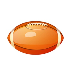 icon football vector image vector image