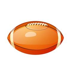 icon football vector image