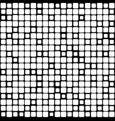Background of black white mosaic vector