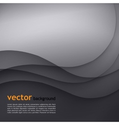Dark gray elegant business background vector