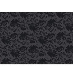 Black velvet seamless pattern in ar deco style vector
