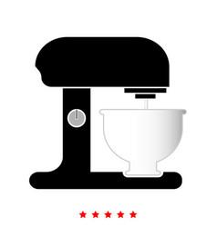 food processor it is icon vector image vector image