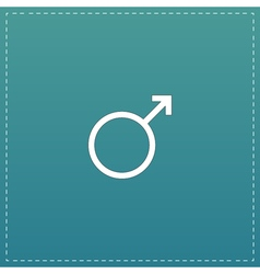 Male sign icon vector image vector image
