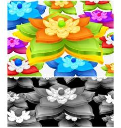 Flower element vector