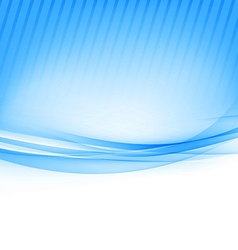 Blue border abstract wave soft background vector