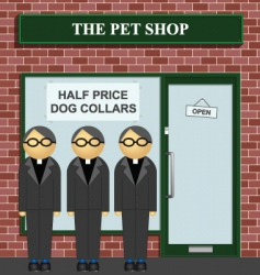 Pet shop vector