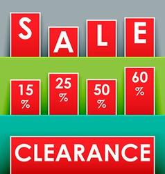 Sale advertisement vector