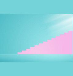 Stairway to the light vector