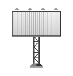 Advertisement billboard vector