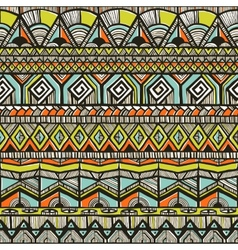 Tribal hand-drawn pattern vector image