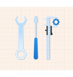 Maintenance tools vector