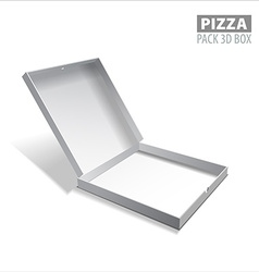 Pizzza box vector