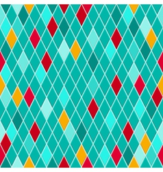 Seamless pattern of small rhombuses vector