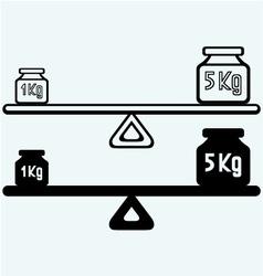 Balancing weight vector image