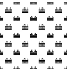 Box of beer pattern simple style vector