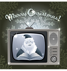 Message from santa vector