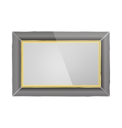 Realistic photo frame vector