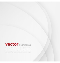 White elegant business background vector