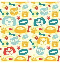 Bright seamless pattern vector