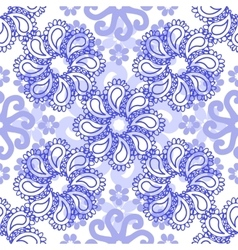 Abstract elegance flowe seamless pattern vector
