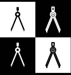 Divider simple sign black and white icons vector