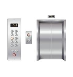 Elevator design set vector