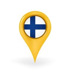 Location finland vector