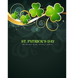 saint patricks day design vector image vector image