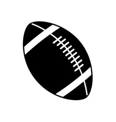 American football ball equipment sport image vector