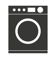 Washing machine isolated icon design vector