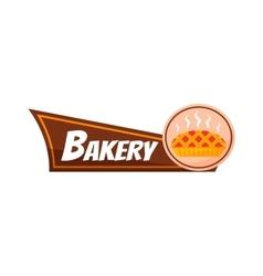 Bakery signboard vector