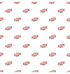 Label special price pattern cartoon style vector
