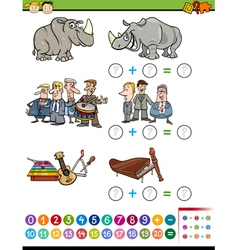 Mathematical preschool task vector