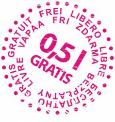 sale stamp gratis vector image vector image