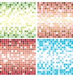 tile backgrounds vector image vector image