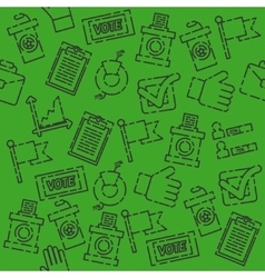 Vote set pattern vector