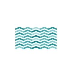 Waves icon vector image