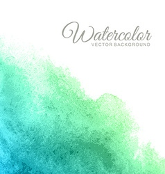 Abstract water color background vector