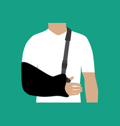 bandage for the hand vector image