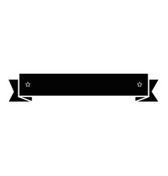 isolated ribbon banner vector image vector image