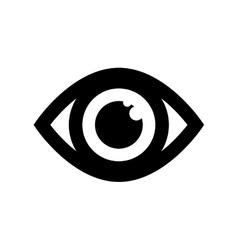 Surveillance eye symbol vector image vector image