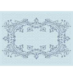 Design frame vector image